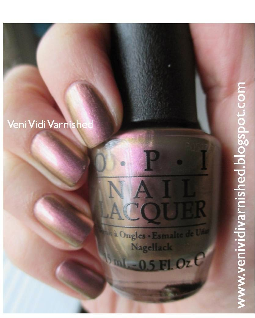 OPI Soft Shades 2014 Muppets Most Wanted Kermit Me to Speak Duochrome