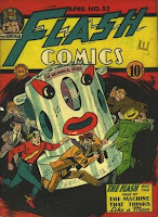 Flash COmics #52 comic cover
