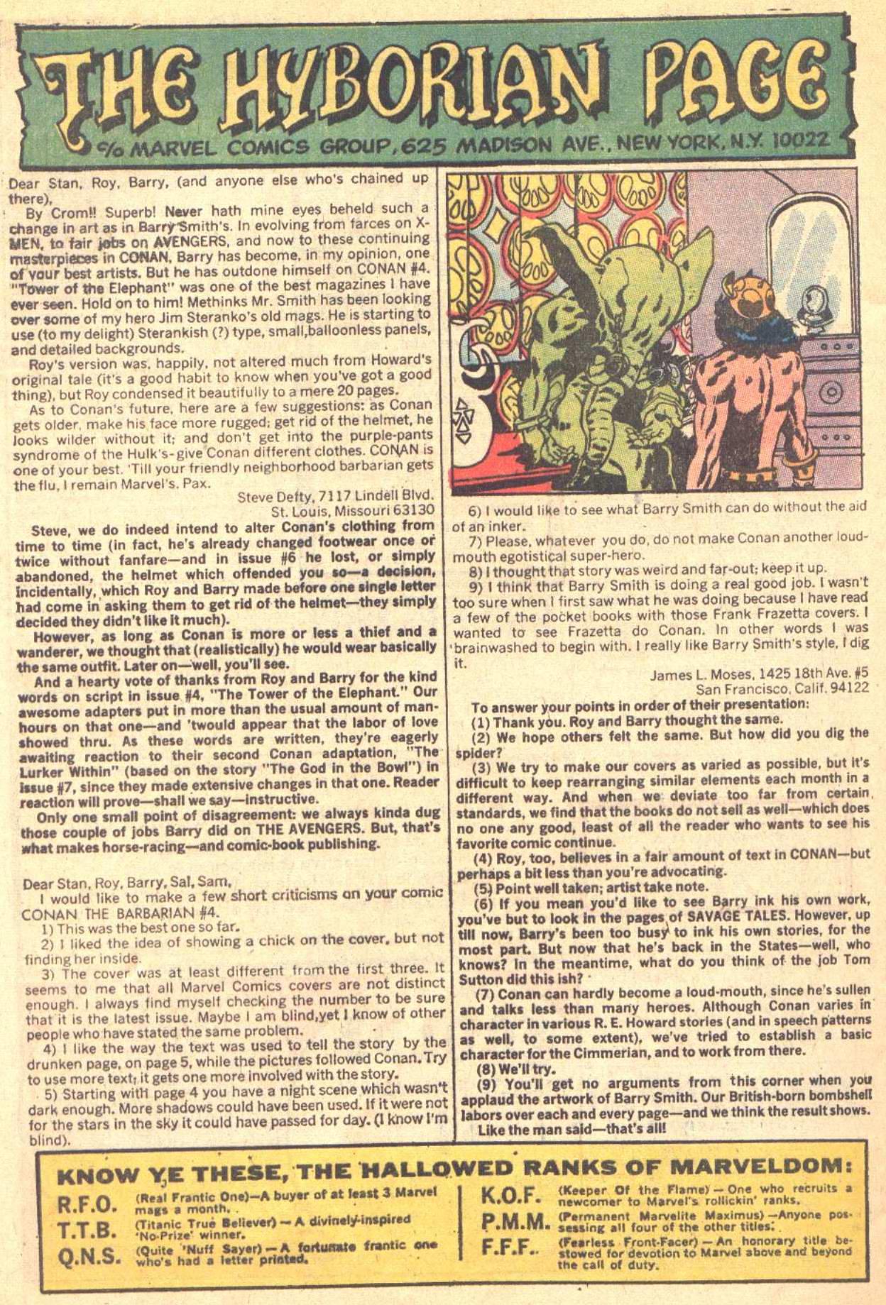 Conan the Barbarian (1970) Issue #8 #20 - English 22