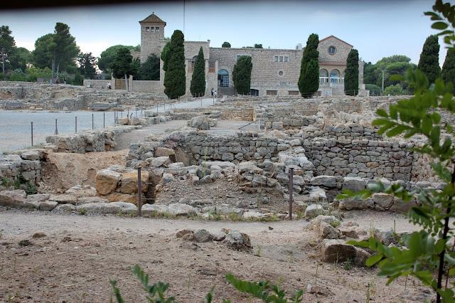 Ágora de la ciudad griega-Ampurias