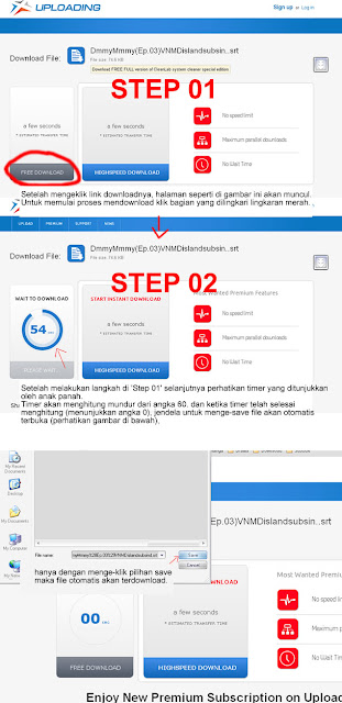 Tutorial mendownload di Uploading