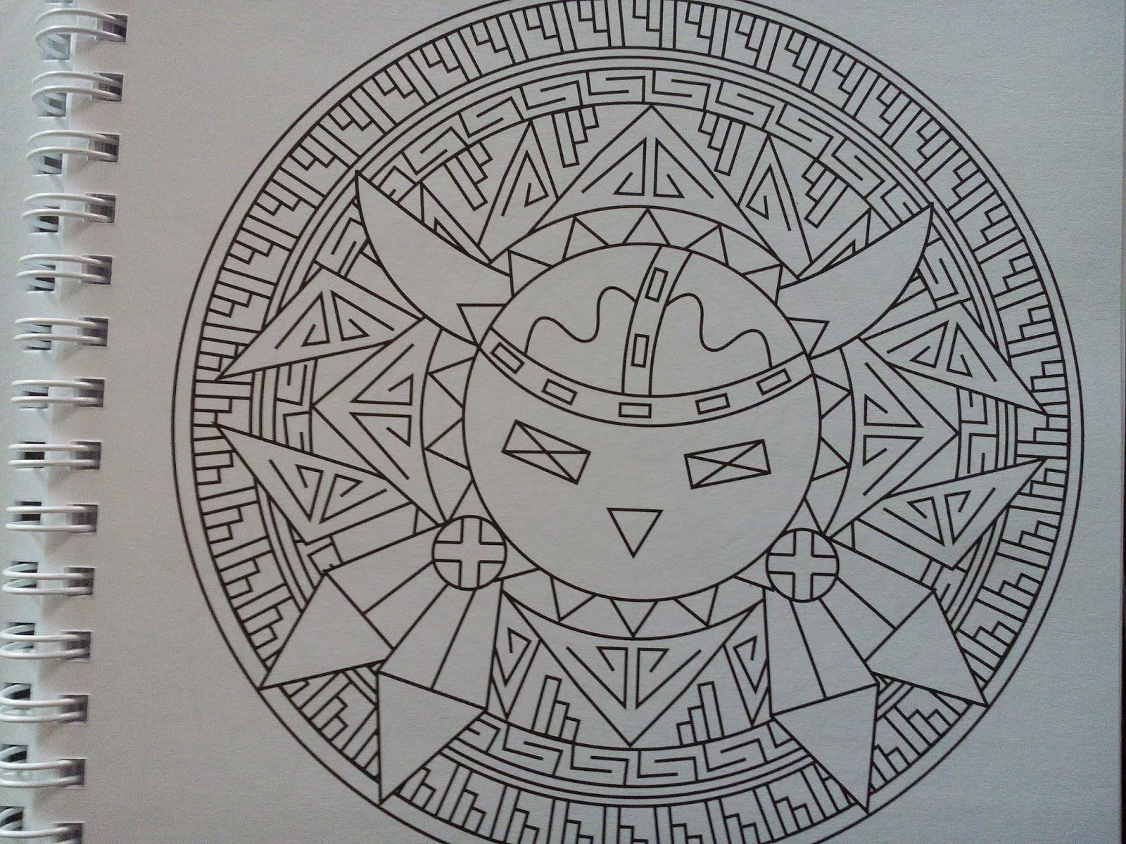 Chronique coloriage anti stress Mandalas navajos et Mandalas du Maroc ♥ ♥ ♥