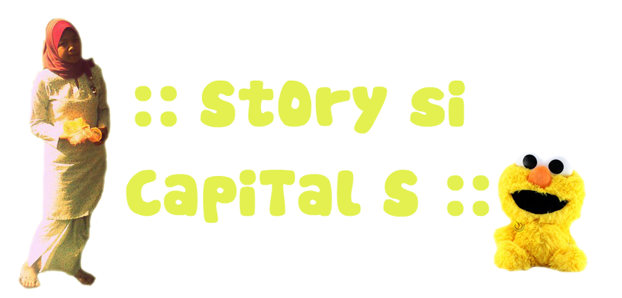 start with CAPITAL S :)