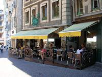 Restaurante Le Flore, Ginebra, Suiza, Restaurant Le Flore,Geneva, Switzerland, Restaurant Le Flore, Genève, Suisse, vuelta al mundo, round the world, La vuelta al mundo de Asun y Ricardo