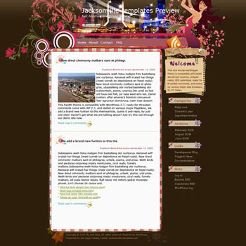 T Platform blogger template. template blog from wordpress