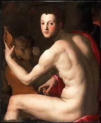 Bronzino+-+Cosimo+I+de+Medici+como+Orfeo