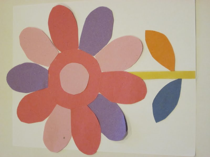 paper flowers craft. paper flowers craft for kids.