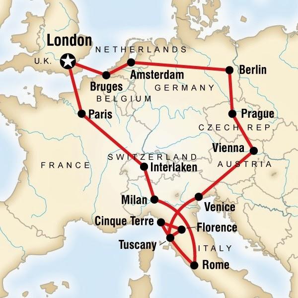 Travelholic Traveltips Overland Backpacking Route