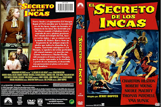 Carátula: El secreto de los incas (1954) (The Secret of the Incas)