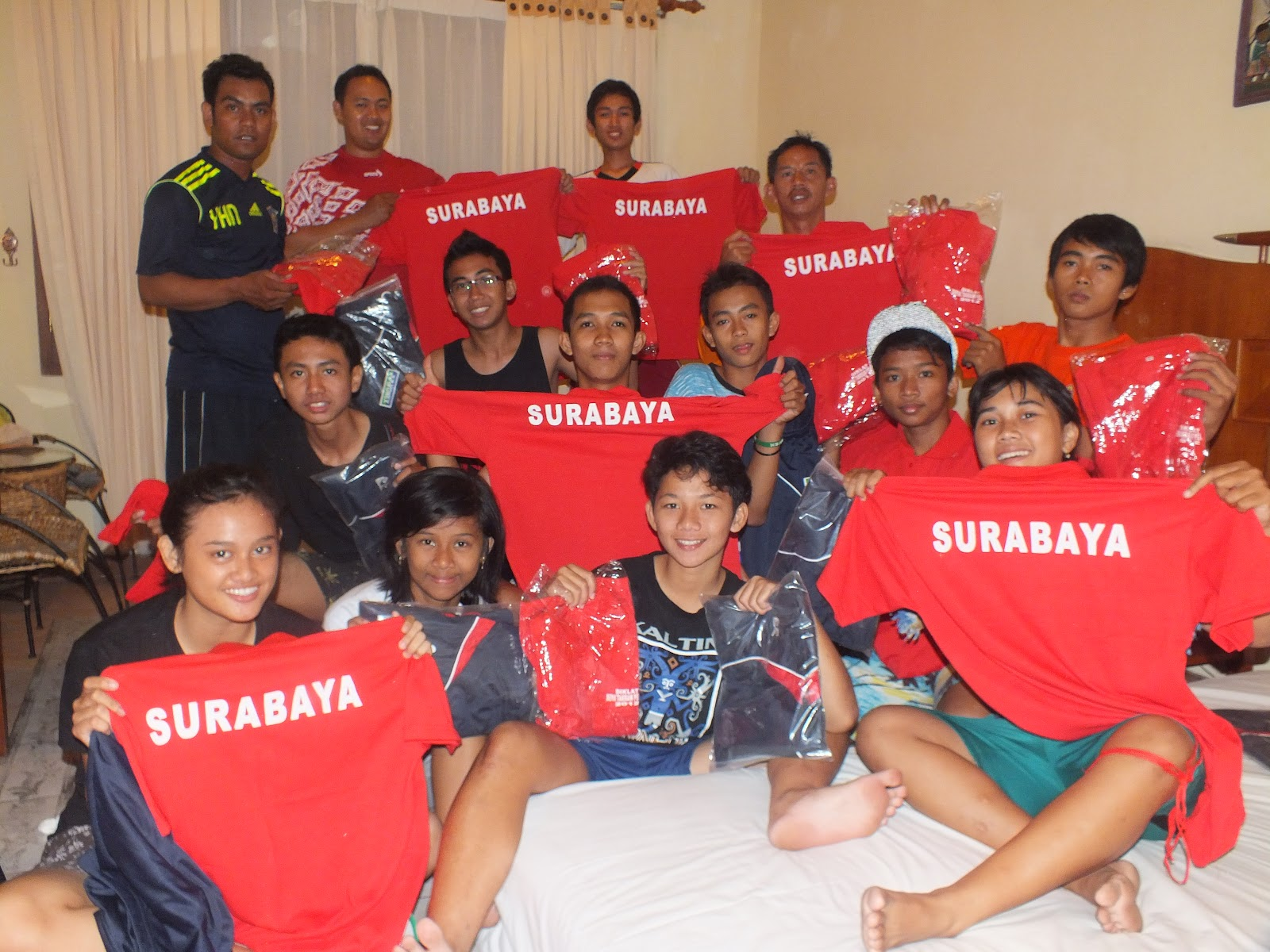 sepak takraw surabaya try out popda 2012