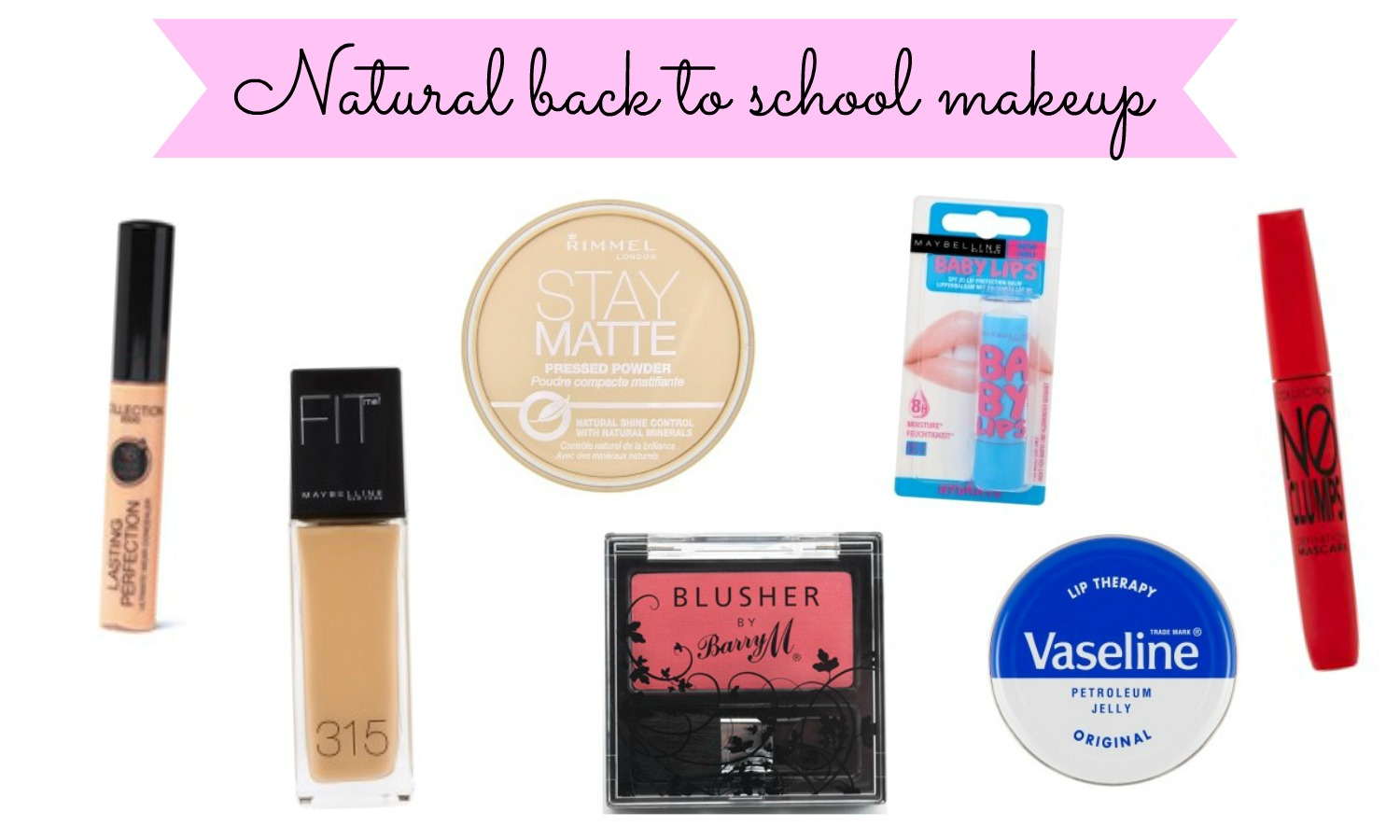how to get a natural makeup look for school