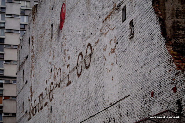 Warszawa Warsaw Wola kamienica ostaniec pustostan Władysław Szlengel opuszczone mural kamień i co balonik