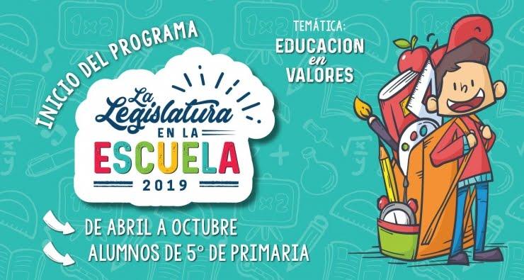 """Programa """"La Legislatura en la escuela – edición 2019"""""""