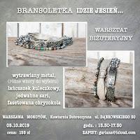 Warszawa Mokotow- Bransoletka Idzie jesień