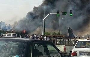 Iranian Plane Crashes near Tehran, All Passengers Dead