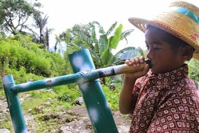 Pa`pompang, Alat Musik Bambu Khas Suku Toraja