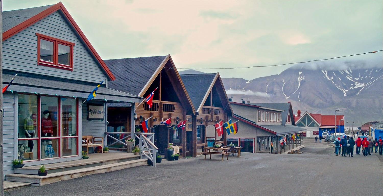 Longyearbyen, segunda etapa del viaje