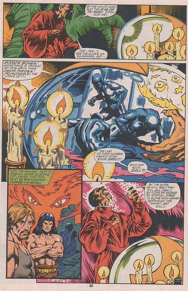 Conan the Barbarian (1970) Issue #251 #263 - English 17
