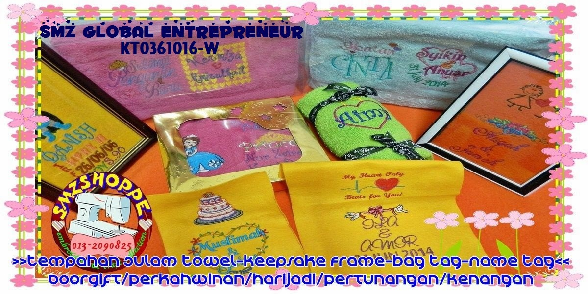 smzshoppe embroidery & craft collections