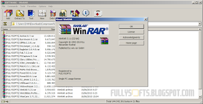 Download WinRAR 5.21 Full Version Incl. Patch