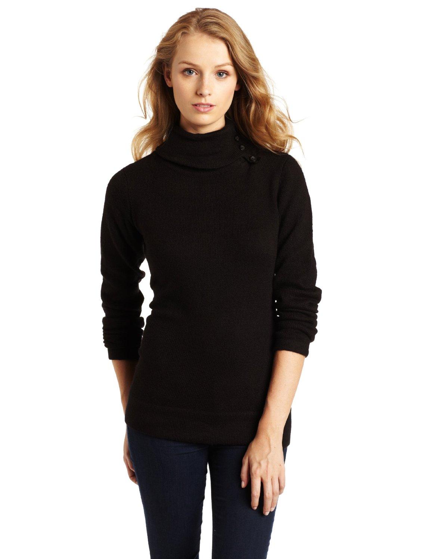 black turtle neck women sweater agb women s mossy long