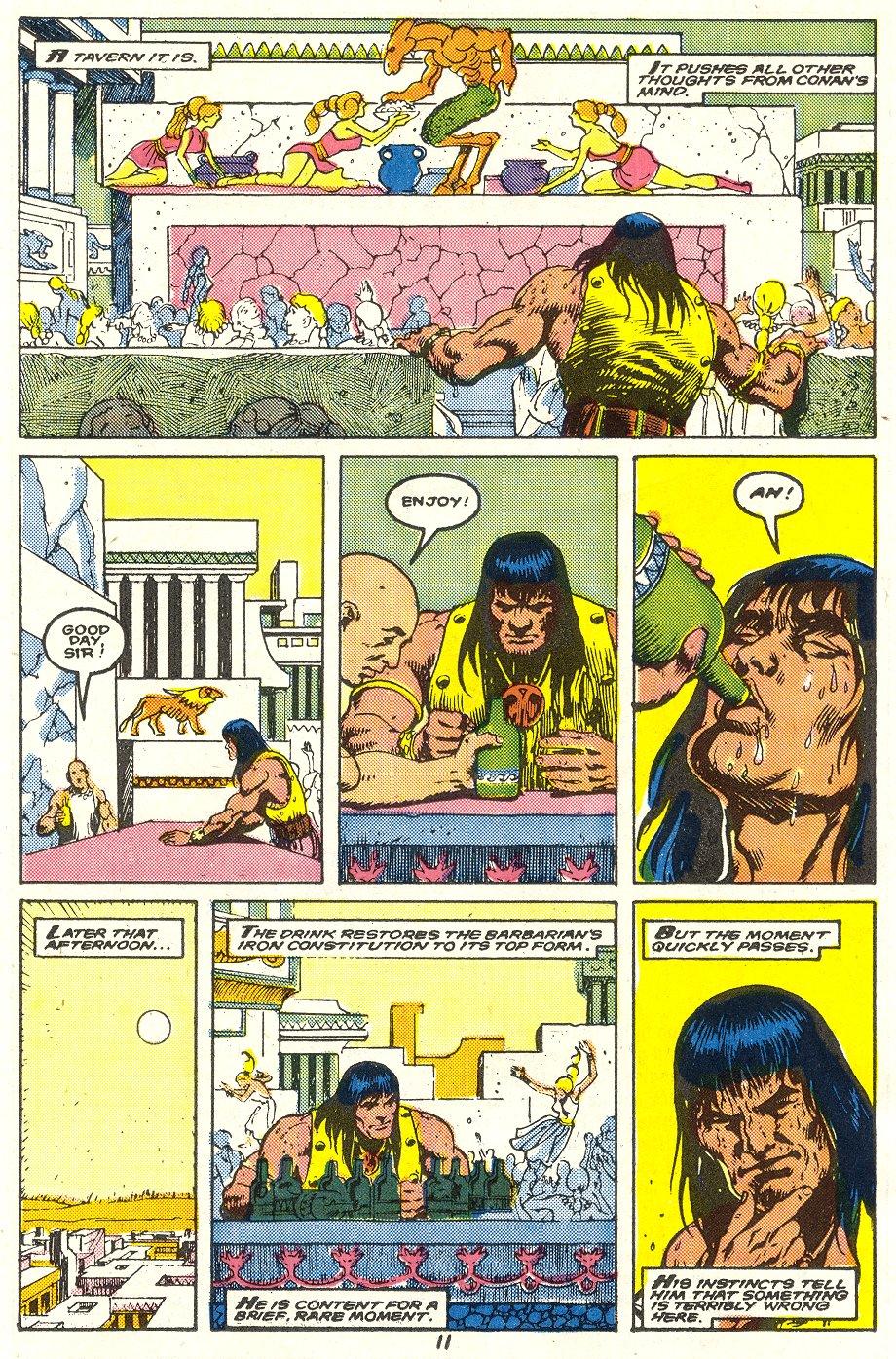 Conan the Barbarian (1970) Issue #214 #226 - English 9