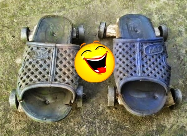 Cara Mudah Dan Murah Membuat Sepatu Roda Sendiri