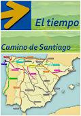 El tiempo en el Camino de Santiago