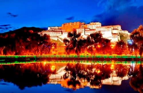 Istana Potala Tibet