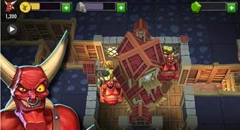 Descarga y juega Dungeon Keeper en tu telefono movil gratis
