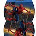 Spiderman: Free Printable Pillow Box.