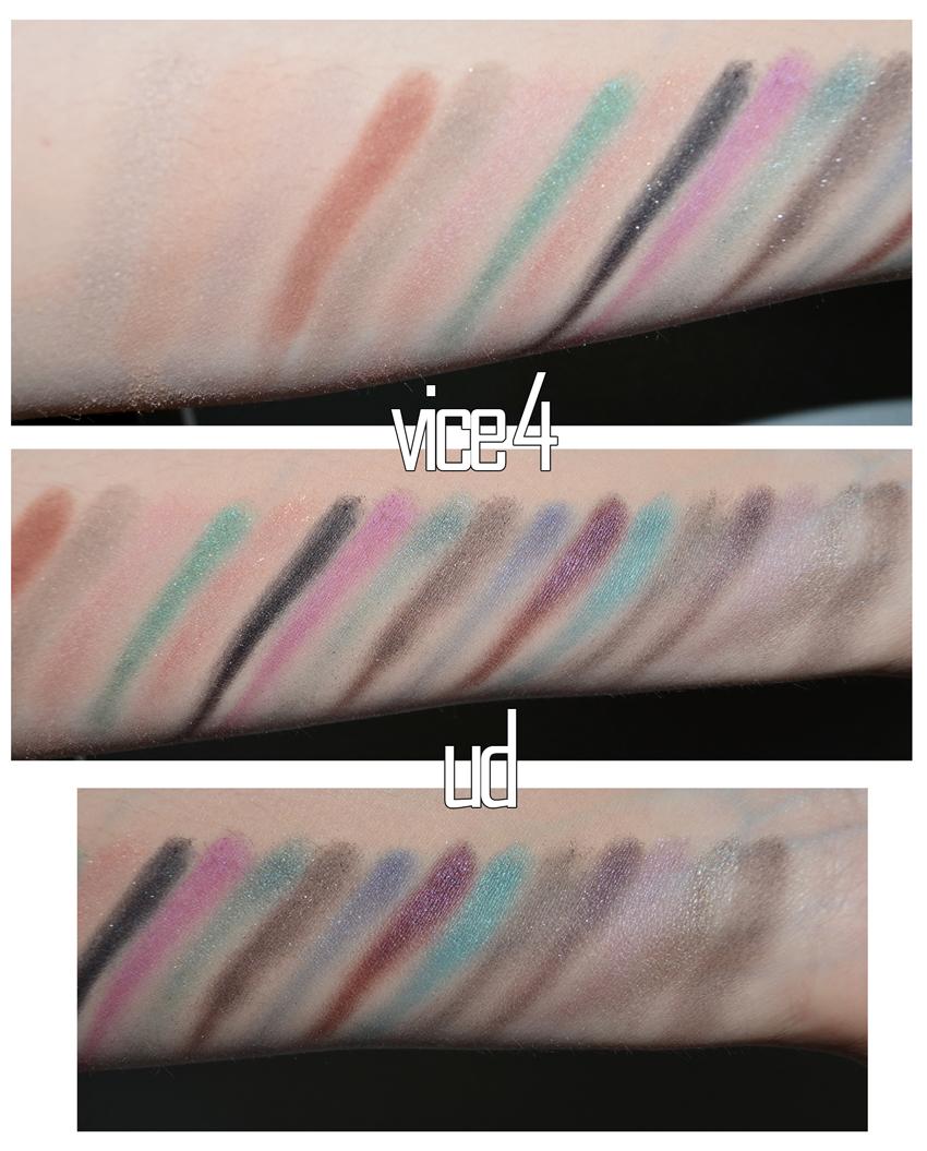 palette maquillage fard à paupières swatch