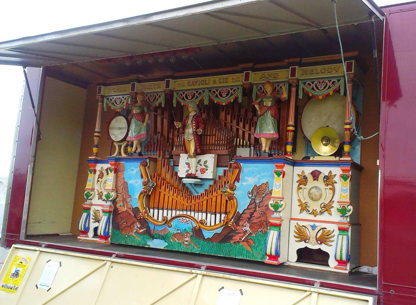 1890s fairground organ
