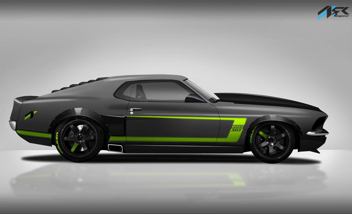 Virtual Tuning Studio By Ark Llanes Ford Mustang Boss