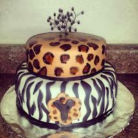 Zebra w Cheetah print