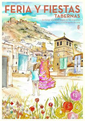 TABERNAS Feria y Fiestas en honor de la Santísima Virgen de las Angustias 2015 Alejandro Sola