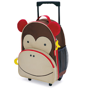 IMPORTED SKIPHOP ROLLING LUGGAGE-MONKEY