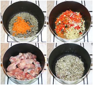 preparare paprikas reteta unguresca, preparare papricas, cum se face papricas de pui cu galuste de faina, retete culinare, retete de mancare, retete papricas, retete paprikas, reteta papricas, reteta papricas,