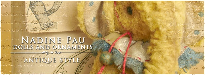 Toys, dolls and ornaments by Nadine Pau