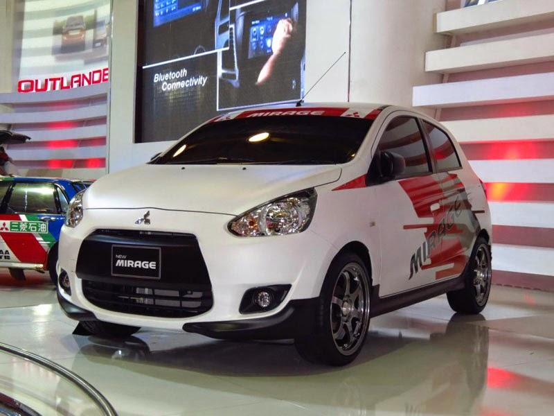 Modifikasi Mobil Mitsubishi Mirage Exceed