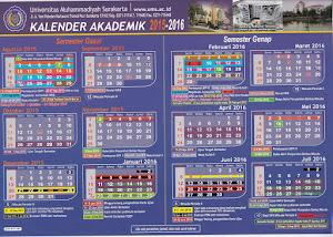 Kalender Akademik 2015/2016