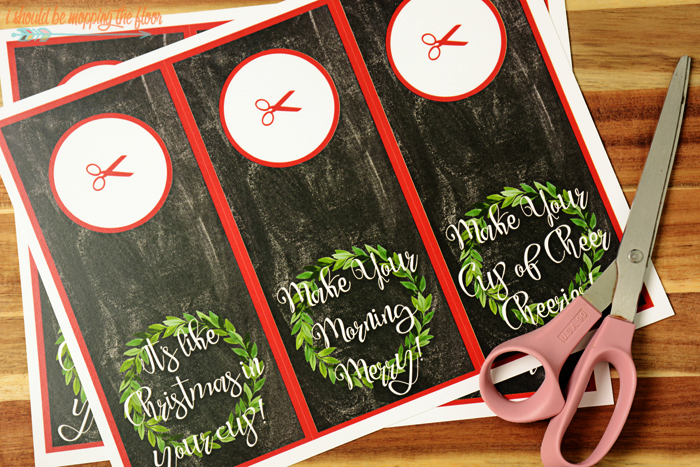 Free Printable Holiday Creamer Gift Tags | Three Designs | Instant Downloads