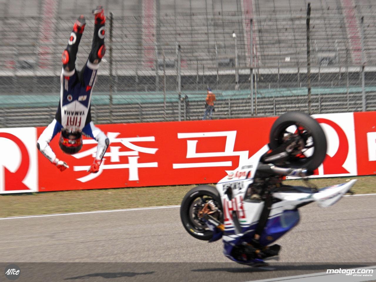Motorsports - Performance Motorcycles: Moto GP Crash
