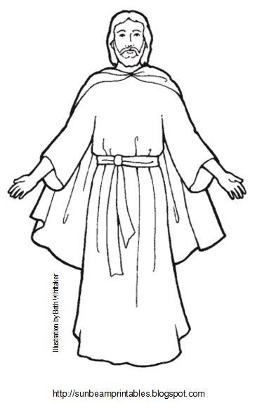 The Second Coming Coloring Pages