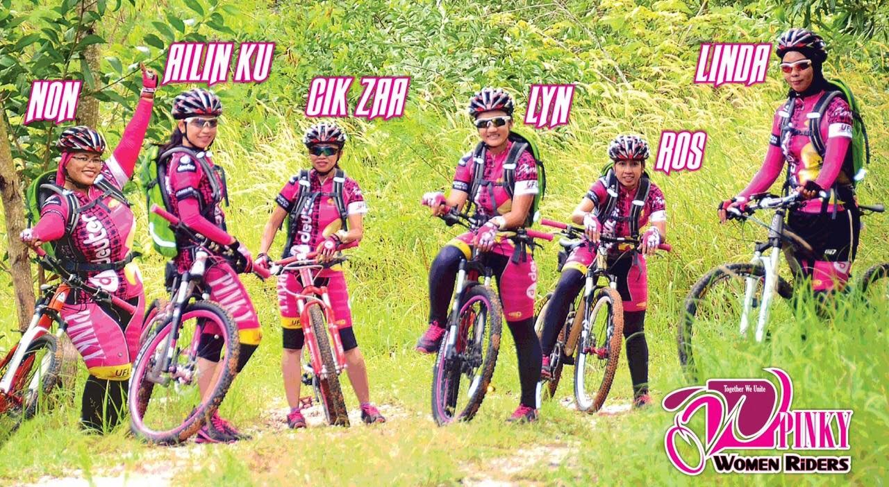 Pinky Women Riders