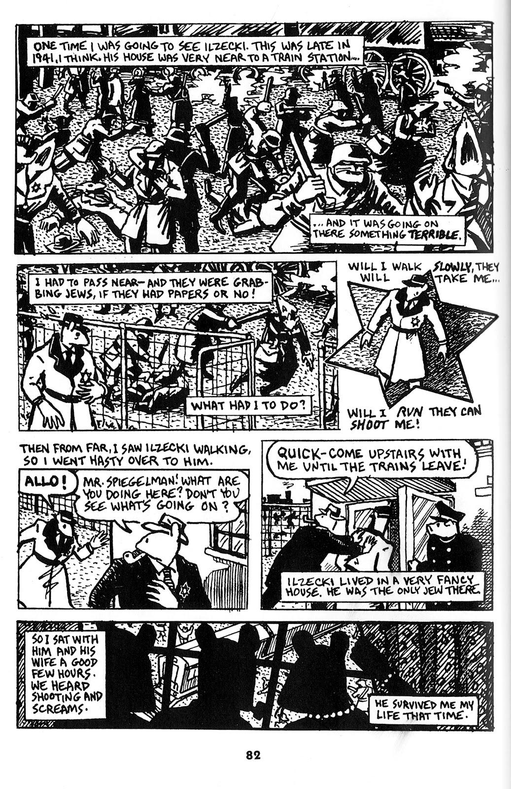 About Art Spiegelman - Maus: November 2012