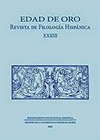 revista Edad de Oro 33 (2014), Novela corta áurea, Departamento de Filología Española UAM