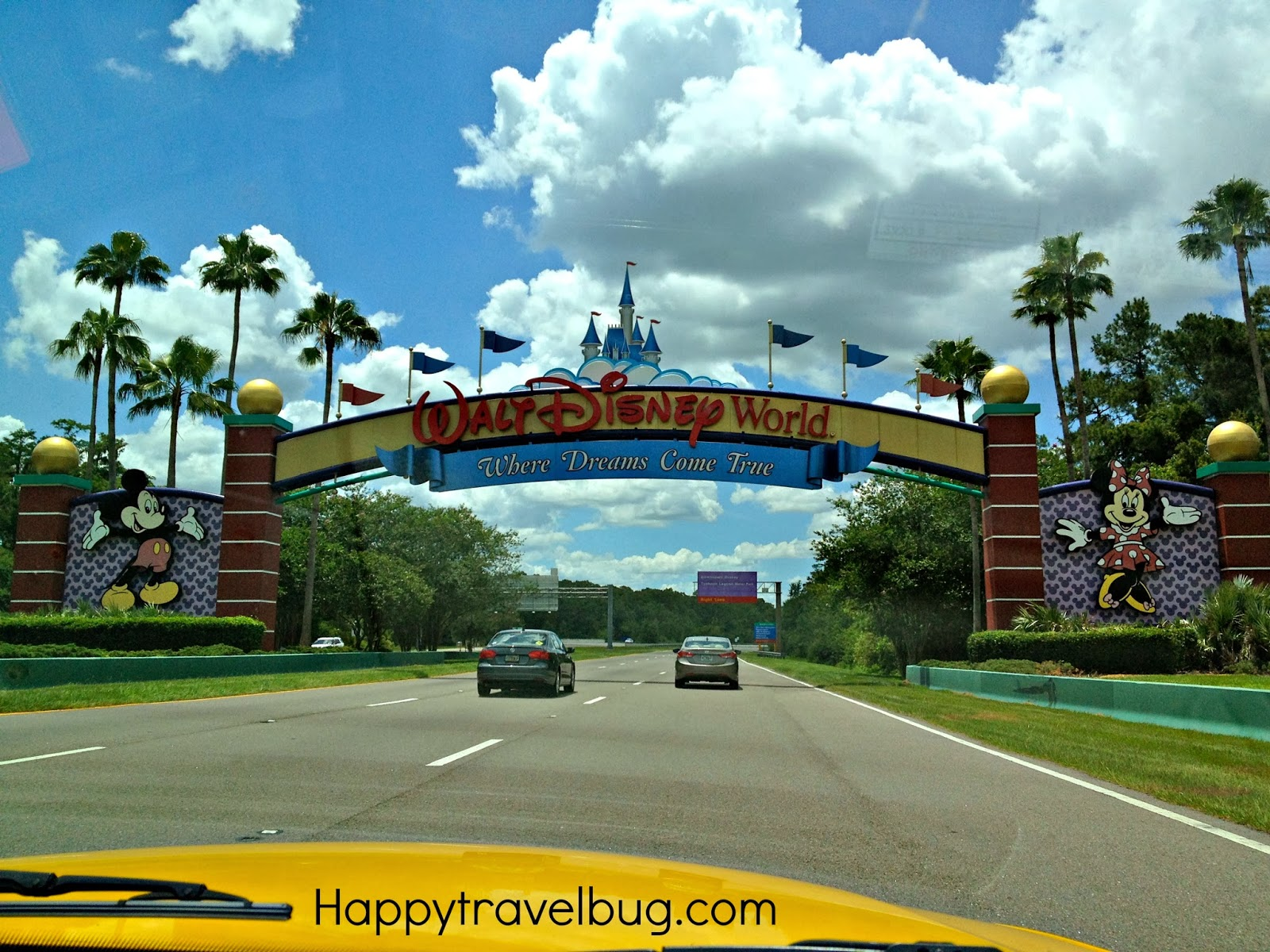 Entrance to Disney World