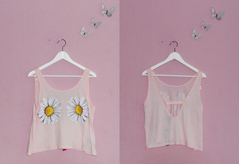Summer Fashion Haul New Yorker Daisy Top