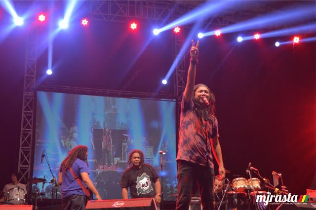Steven Jam di Jogja Reggae land 2015